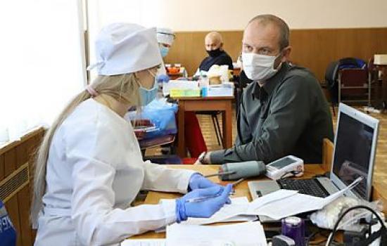 Донорская акция в Крымэнерго.